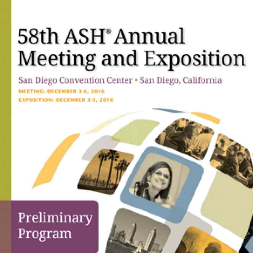 58th ASH Annual Meeting & Exposition
