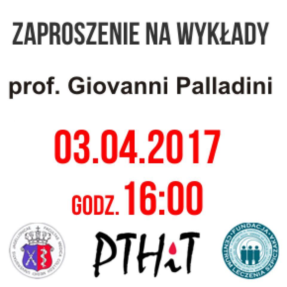 Wykład: prof. Giovanni Palladini